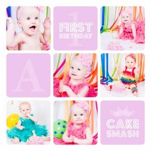 Cake Smash Just Rebecca Photography 5
