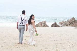 Veronica & Patrick Eloped xx North Burleigh Beach, Gold Coast  25