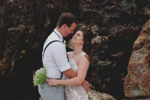 Veronica & Patrick Eloped xx North Burleigh Beach, Gold Coast  29