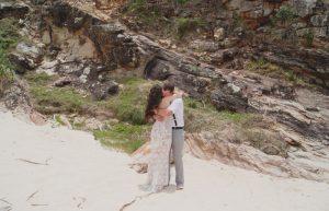 Veronica & Patrick Eloped xx North Burleigh Beach, Gold Coast  37
