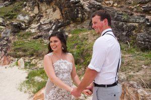 Veronica & Patrick Eloped xx North Burleigh Beach, Gold Coast  54