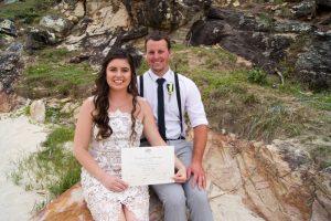 Veronica & Patrick Eloped xx North Burleigh Beach, Gold Coast  59