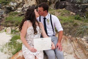 Veronica & Patrick Eloped xx North Burleigh Beach, Gold Coast  60