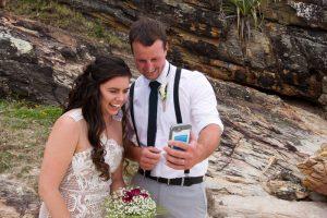 Veronica & Patrick Eloped xx North Burleigh Beach, Gold Coast  62