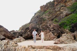 Veronica & Patrick Eloped xx North Burleigh Beach, Gold Coast  69