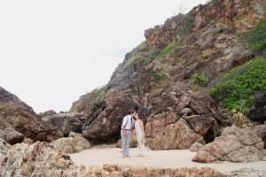 Veronica & Patrick Eloped xx North Burleigh Beach, Gold Coast  70