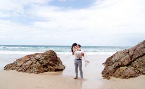 Veronica & Patrick Eloped xx North Burleigh Beach, Gold Coast  71