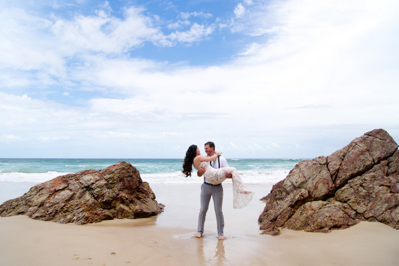 Veronica & Patrick Eloped xx North Burleigh Beach, Gold Coast  72