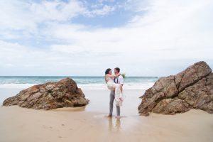 Veronica & Patrick Eloped xx North Burleigh Beach, Gold Coast  73