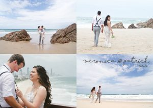 Veronica & Patrick Eloped xx North Burleigh Beach, Gold Coast  80