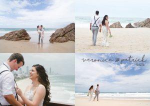 Veronica & Patrick Eloped xx North Burleigh Beach, Gold Coast  1