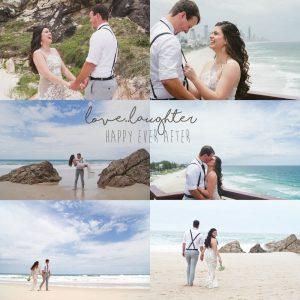 Veronica & Patrick Eloped xx North Burleigh Beach, Gold Coast  2