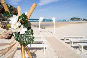Amanda + Gavin Married xx North Burleigh beach wedding  120