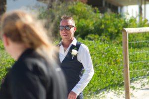 Amanda + Gavin Married xx North Burleigh beach wedding  124