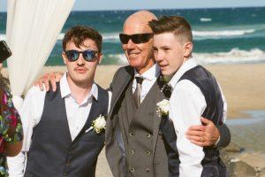 Amanda + Gavin Married xx North Burleigh beach wedding  134