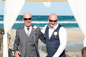 Amanda + Gavin Married xx North Burleigh beach wedding  138