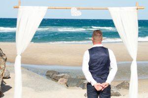 Amanda + Gavin Married xx North Burleigh beach wedding  140