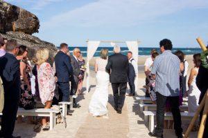 Amanda + Gavin Married xx North Burleigh beach wedding  145