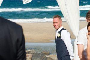 Amanda + Gavin Married xx North Burleigh beach wedding  146