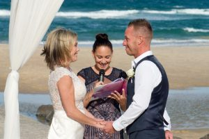 Amanda + Gavin Married xx North Burleigh beach wedding  149