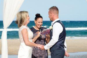 Amanda + Gavin Married xx North Burleigh beach wedding  150