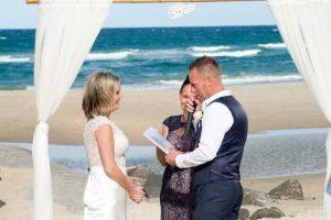 Amanda + Gavin Married xx North Burleigh beach wedding  151