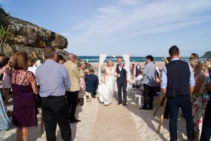 Amanda + Gavin Married xx North Burleigh beach wedding  157