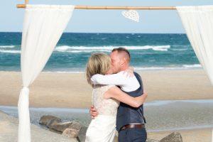 Amanda + Gavin Married xx North Burleigh beach wedding  75