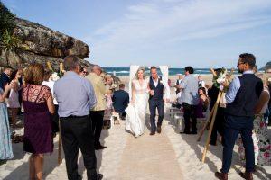 Amanda + Gavin Married xx North Burleigh beach wedding  159
