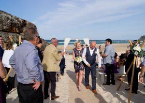 Amanda + Gavin Married xx North Burleigh beach wedding  161
