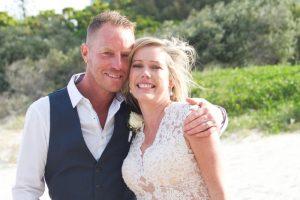 Amanda + Gavin Married xx North Burleigh beach wedding  163