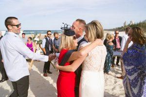 Amanda + Gavin Married xx North Burleigh beach wedding  164