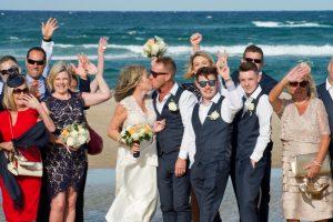 Amanda + Gavin Married xx North Burleigh beach wedding  167