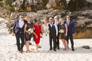Amanda + Gavin Married xx North Burleigh beach wedding  80