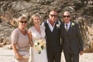 Amanda + Gavin Married xx North Burleigh beach wedding  170