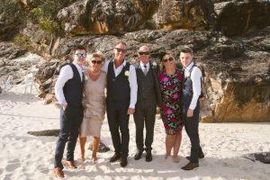 Amanda + Gavin Married xx North Burleigh beach wedding  171