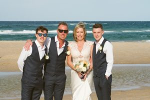 Amanda + Gavin Married xx North Burleigh beach wedding  172