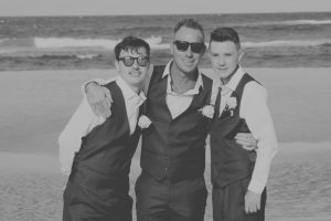 Amanda + Gavin Married xx North Burleigh beach wedding  173