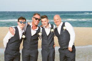 Amanda + Gavin Married xx North Burleigh beach wedding  174