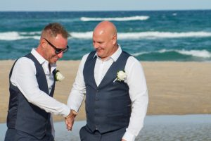 Amanda + Gavin Married xx North Burleigh beach wedding  1