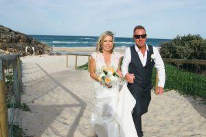 Amanda + Gavin Married xx North Burleigh beach wedding  3