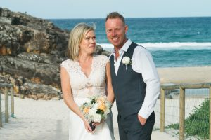 Amanda + Gavin Married xx North Burleigh beach wedding  7