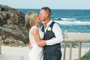 Amanda + Gavin Married xx North Burleigh beach wedding  8
