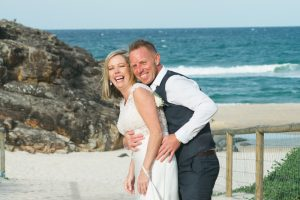 Amanda + Gavin Married xx North Burleigh beach wedding  9