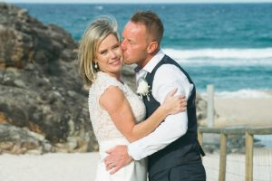 Amanda + Gavin Married xx North Burleigh beach wedding  10