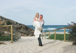 Amanda + Gavin Married xx North Burleigh beach wedding  11
