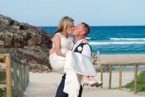 Amanda + Gavin Married xx North Burleigh beach wedding  14