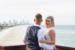 Amanda + Gavin Married xx North Burleigh beach wedding  17