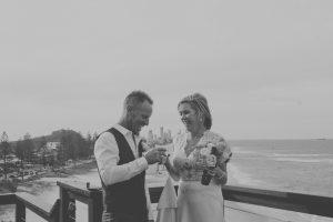 Amanda + Gavin Married xx North Burleigh beach wedding  19