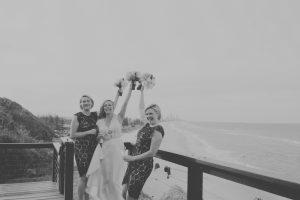 Amanda + Gavin Married xx North Burleigh beach wedding  21